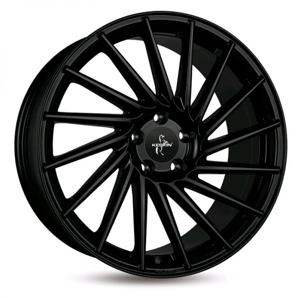 KT17 10Jx22 5/112 ET40 72,6 MATT BLACK PAINTED