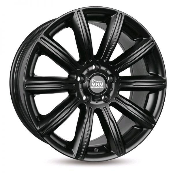 MAM7_N 7,5Jx17 5/112 ET30 72,6 MATT BLACK PAINTED