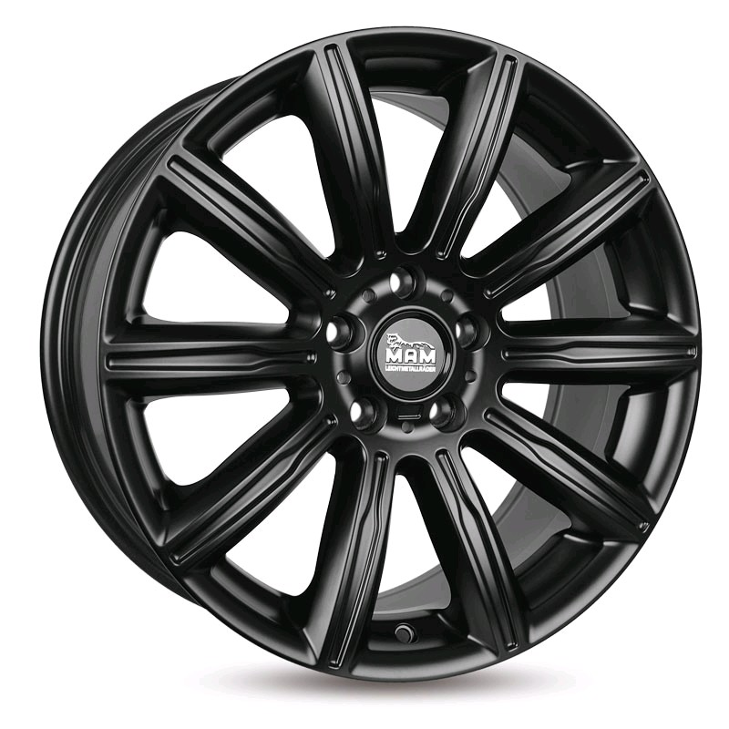 MAM7_N 7,5Jx17 5/120 ET35 72,6 MATT BLACK PAINTED